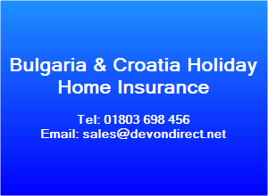 Low Cost Bulgaria & Croatia Property Insurance