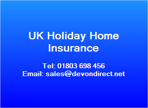 UK Hoiday Home Insurance inc Thatched  property Insurance and Unoccupied House Insurance