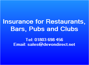 Club insurance, cheap public liability insurance and restaurant insurance quotes