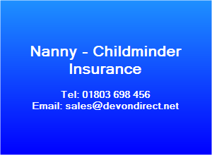Nanny Insurance, childminder insurance, employers liability insurance,nannies insurance